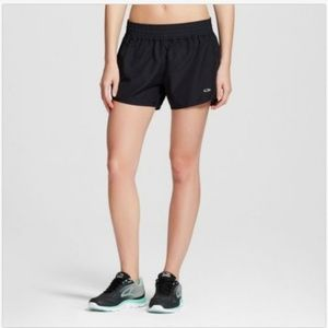 C9 Champion DuoDry Running Shorts Black Perforated